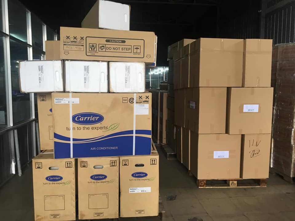 Hàng hóa vận chuyển đi Đồng Nai