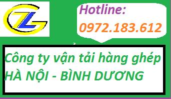 Công ty vận chuyển hàng ghép từ Hà Nội đi Bình Dương và ngược lại