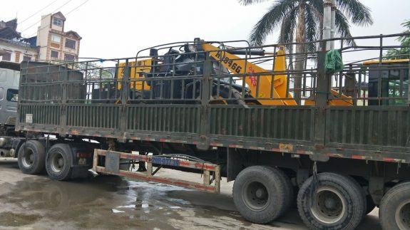 Chở máy móc đi Đà Nẵng