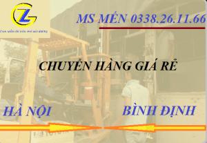 Chuyển hàng Hà Nội đi Bình Định nhanh chóng