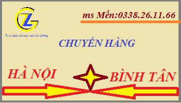 Chuyển hàng Hà Nôi Bình Tân