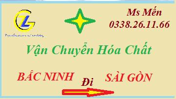 Chuyển Hóa Chất Từ Bắc Ninh đi Sài Gòn