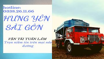 Chuyển Hàng Hưng Yên Đi Sài Gòn