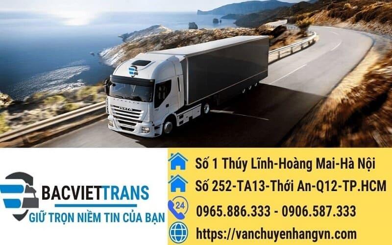Vận chuyển hàng hóa Bắc Nam bắc Việt uy tín